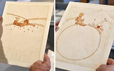 """Resultado de imagen para Encuentran bocetos originales de """"El Principito"""" en una casa de Suiza"""