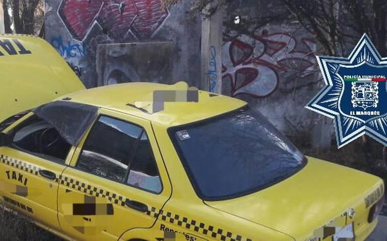 Localizan en Calamanda taxi con reporte de robo - Diario de