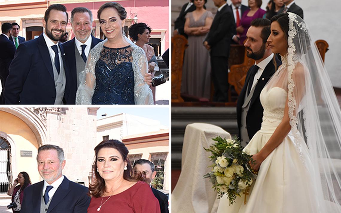 Ana Posada y Humberto Paulín unieron sus vidas en matrimonio ...