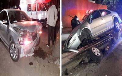 Accidentada Madrugada Se Registraron Dos Choques Diario De Querétaro