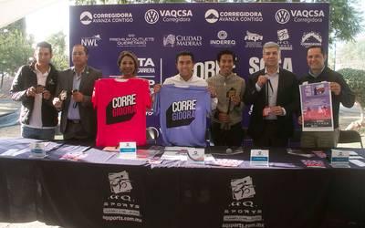 Presentan la cuarta edición de la Carrera Corregidora ...