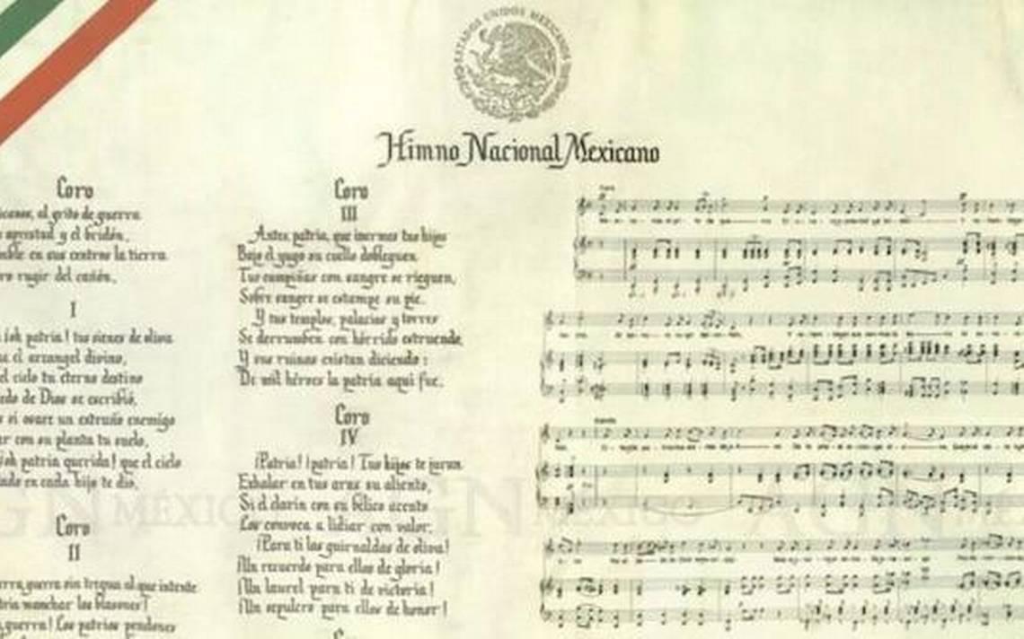 Estrofas Prohibidas Del Himno Nacional Mexicano Diario De Queretaro