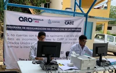 Avanzan Con Programa De Regularización Del Estado Civil