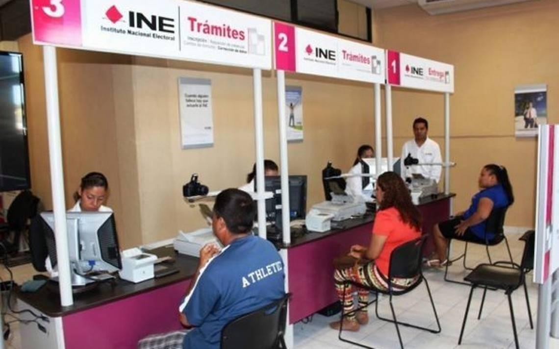 Amplían horario en módulos del INE - Diario de Querétaro